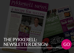 The Pykkerell monthly newsletter